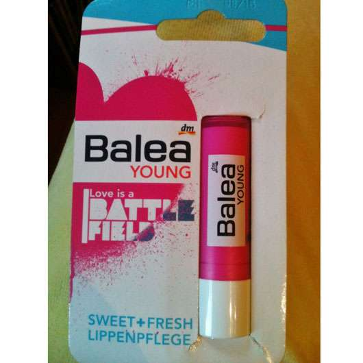 Balea Young Lippenpflege Love is a Battlefield (LE)