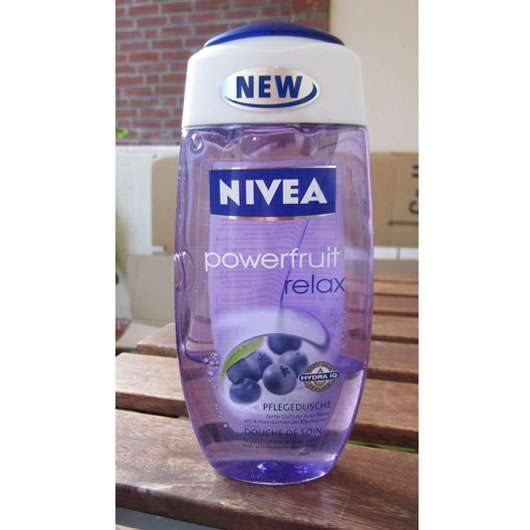 Nivea powerfruit relax Pflegedusche