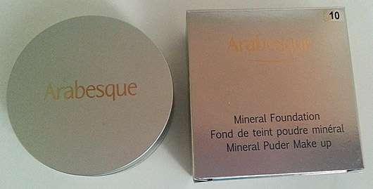 Arabesque Mineral Foundation, Farbe 10 vanille