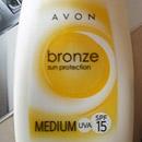 Avon Bronze Sun Protection Medium UVA SPF 15 Sun Spray Lotion