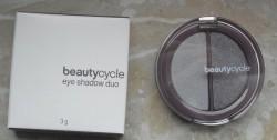 Produktbild zu beautycycle colour eye shadow duo – Farbe: arctic grey