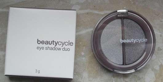 <strong>beautycycle colour</strong> eye shadow duo - Farbe: arctic grey