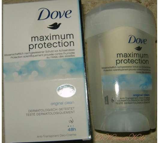 Dove Maximum Protection Anti-Transpirant Deo-Creme