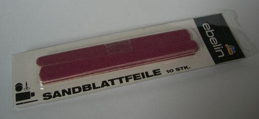 ebelin Sandblattfeile (10 Stück)
