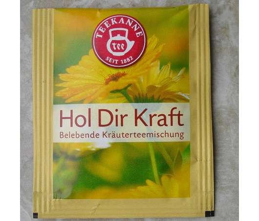 "Teekanne ""Hol dir Kraft""  Belebende Kräutermischung"