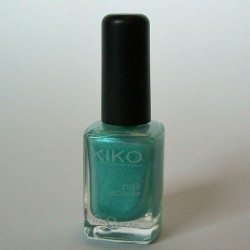 Produktbild zu KIKO Nail Lacquer – Farbe: 298 Turquoise Microglitter