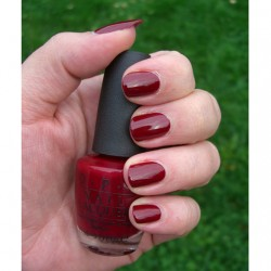 Produktbild zu OPI Nail Lacquer – Farbe: A34 Quarter of a Cent Cherry