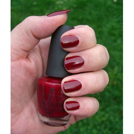 OPI Nail Lacquer, Farbe: A34 Quarter of a Cent Cherry