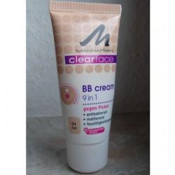 Produktbild zu MANHATTAN CLEARFACE 9 in 1 BB Cream – Farbe: 01 hell