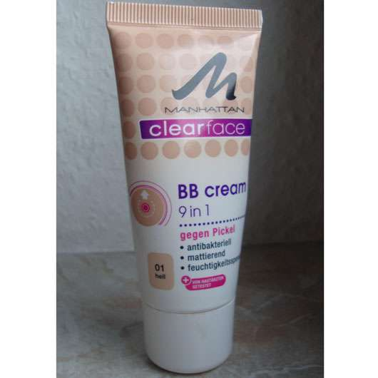 <strong>MANHATTAN CLEARFACE</strong> 9 in 1 BB Cream - Farbe: 01 hell