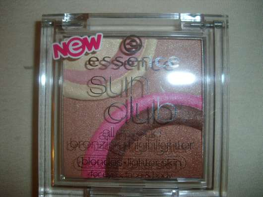 essence sun club all-in-one bronzing highlighter, Farbe: blondes (lighter skin)