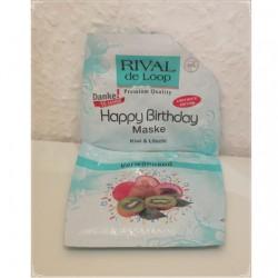 Produktbild zu Rival de Loop Happy Birthday Maske Kiwi & Litschi (LE)