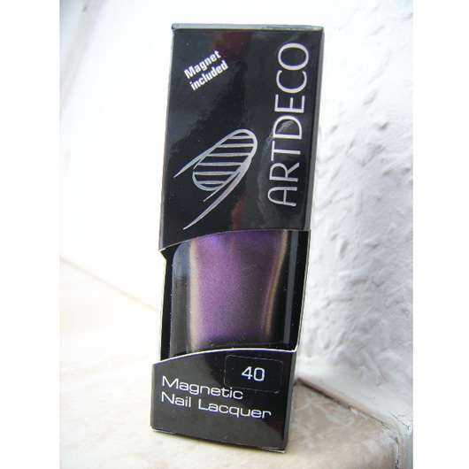 Artdeco Magnetic Nail Lacquer, Farbe: 40 Magnetic Purple