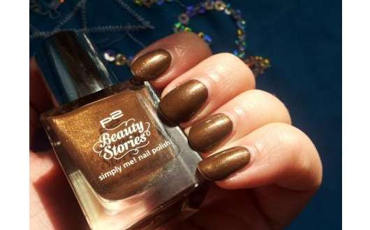 p2 beauty stories simply me! nail polish, Farbe: 020 vibrant chestnut (LE)