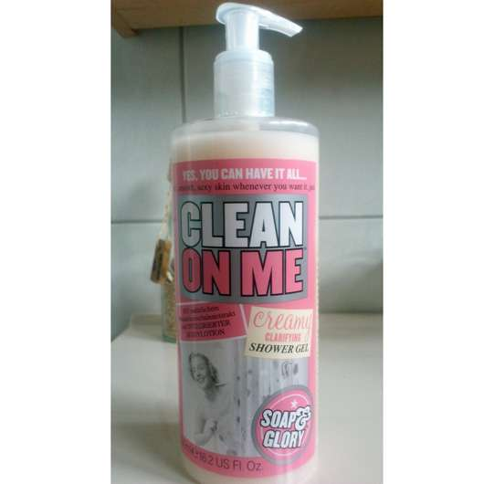 Soap & Glory Clean On Me Creamy Clarifying Shower Gel