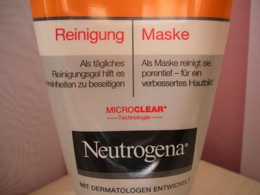 neutrogena 2 in 1 mask how to use