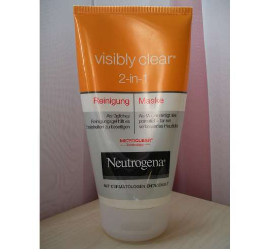 Neutrogena Visibly Clear 2-in-1 Reinigung & Maske