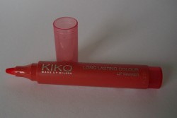 Produktbild zu KIKO Long Lasting Coulour Lip Marker – Farbe: 103 Peach Red