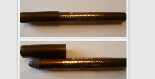 essence stays no matter what eyepencil & shadow, Farbe: 08 chocolate brownie