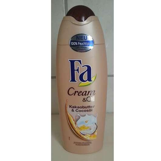 Fa Cream & Oil Kakaobutter & Cocosöl Duschcreme