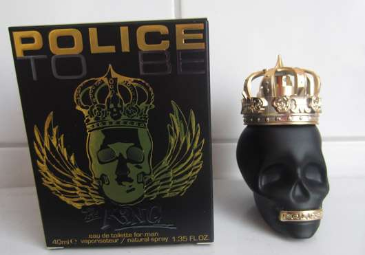 Police To Be The King EdT (for Man)