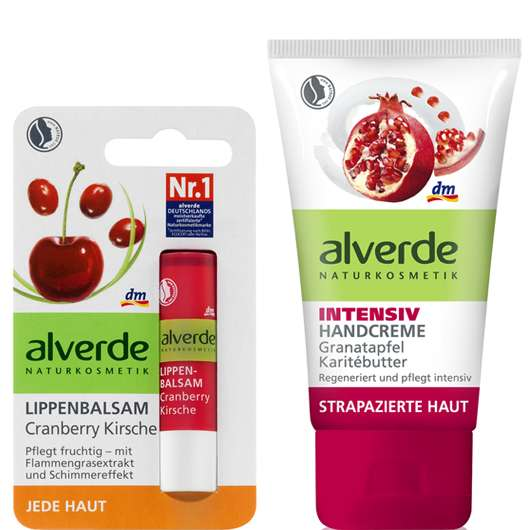 alverde NATURKOSMETIK Produktneuheiten für Lippen, Hände & Körper