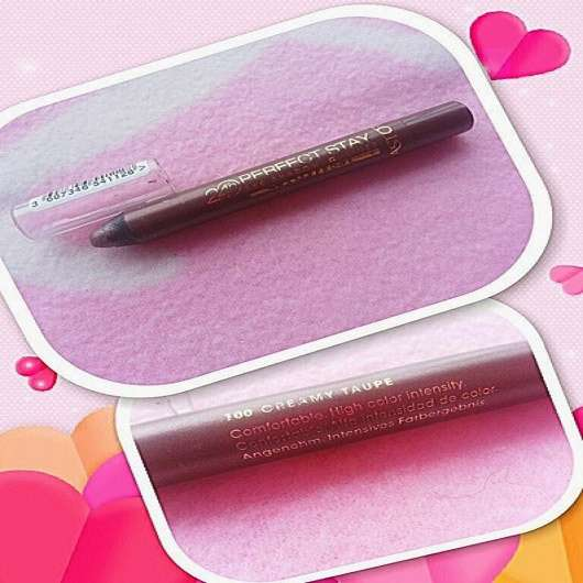 Astor 24h Perfect Stay Eyeshadow & Liner Waterproof, Farbe: 100 Creamy Taupe