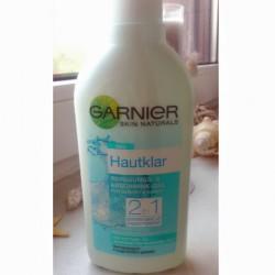 Produktbild zu Garnier Skin Naturals Hautklar 2in1 Reinigungs- & Abschmink-Gel