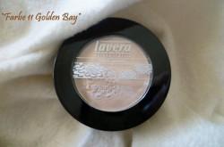 Produktbild zu lavera Basis sensitiv Beautiful Mineral Eyeshadow – Farbe: 11 Golden Bay (LE)