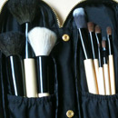 Lenka Kosmetik Pinselset (10 Professionelle Pinsel aus Natur- und Synthetikhaar)