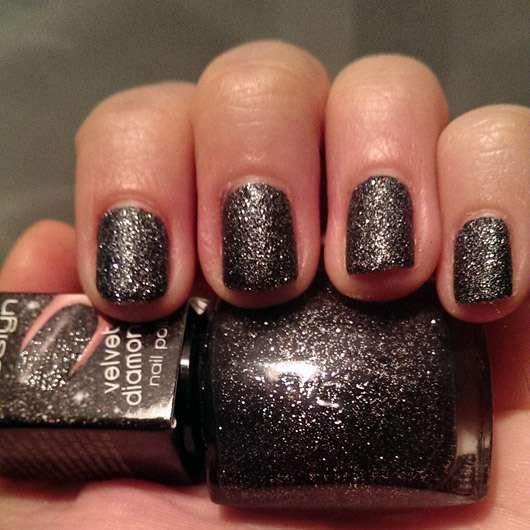 Misslyn Velvet Diamond Nail Polish, Farbe: 12 Universe (LE)