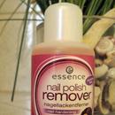 essence nail polish remover nail hardening (strawberry + passionfruit)