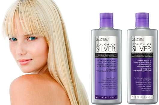 12 Touch of Silver Haarpflege-Sets zu gewinnen