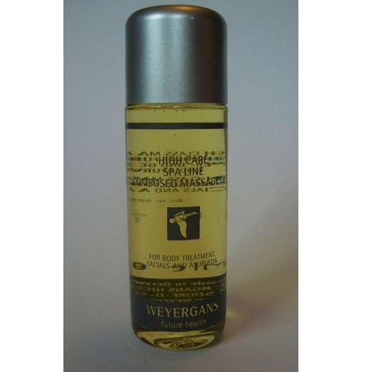 Weyergans Composed Massage Oil