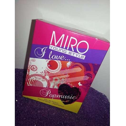 MIRO YoungStyle I Love…Popmusic Eau de Parfum
