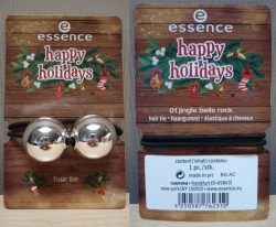 Produktbild zu essence happy holidays hair tie – Farbe: 01 jingle bells rock (LE)