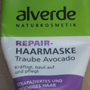 alverde Repair-Haarmaske Traube Avocado