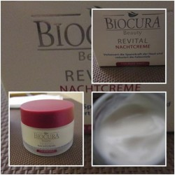 Produktbild zu Biocura Beauty Revital Nachtpflege