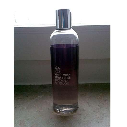 The Body Shop White Musk Smoky Rose Body Wash Gel Douche