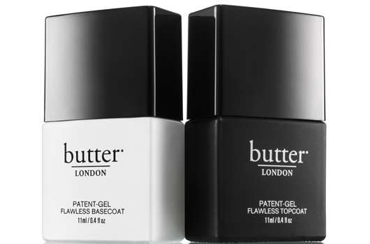 butter LONDON PATENT-GEL TOP & TAILS