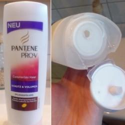 Produktbild zu PANTENE PRO-V Schutz & Volumen Pflegespülung (coloriertes Haar)