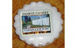 Produktbild zu Yankee Candle Clean Cotton Tart