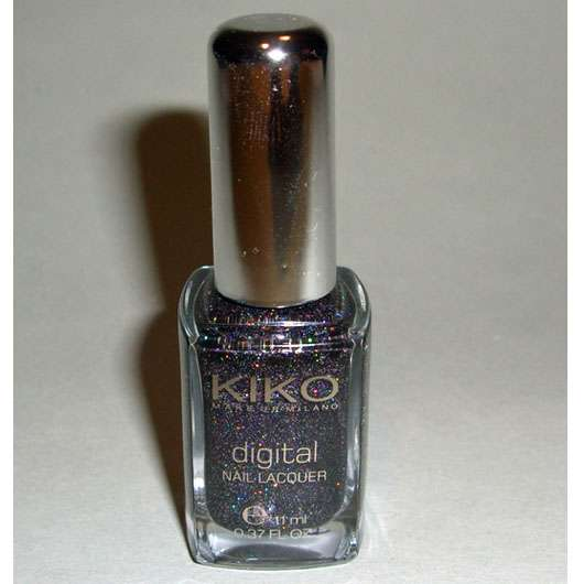 KIKO digital nail lacquer, Farbe: 442 techno black (LE)