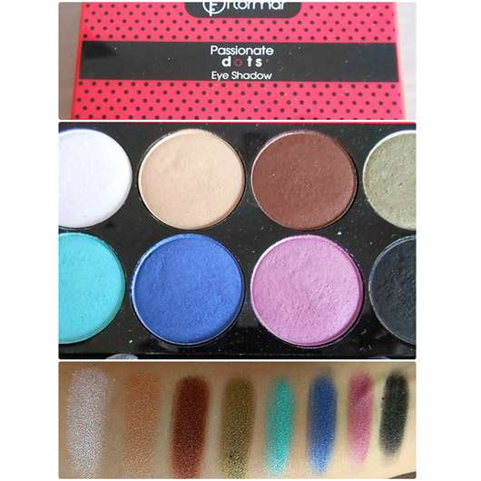 <strong>Flormar</strong> Passionate Dots Eye Shadow Palette (LE)