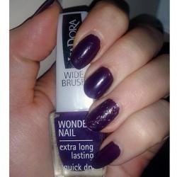 Produktbild zu IsaDora Wonder Nail Nagellack – Farbe: 772 Purple Reign