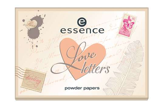 "essence trend edition ""love letters"""