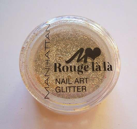 Manhattan Rouge là là Nail Art Glitter, Farbe: 02 gimme gold! (LE)