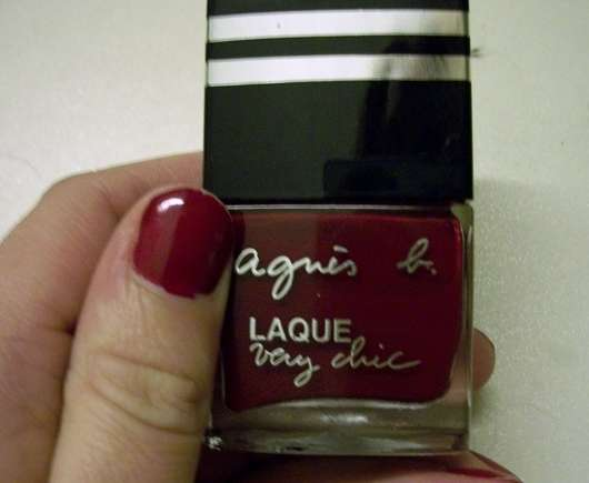 agnès b. Laque Very Chic, Farbe: Opera Red