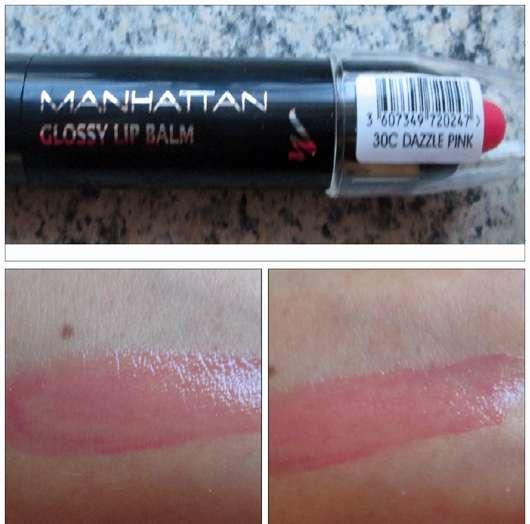Manhattan Glossy Lip Balm, Farbe: 30C Dazzle Pink