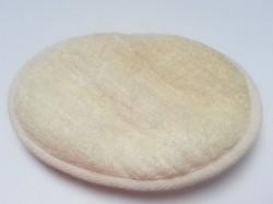 Produktbild zu ebelin Massage-Pad Luffa & Frottee